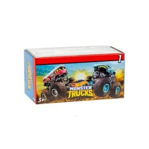 Mini Monster Truck Hot Wheels Sortido Mattel