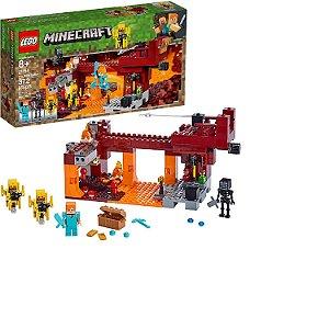 LEGO Minecraft A ponte de chamas 21154