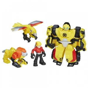 Transformers Rescue Bots Bumblebee Playskool Heroes Hasbro