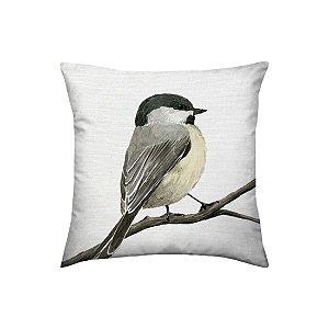 Almofada Linho Bamboo Bird  Kacyumara