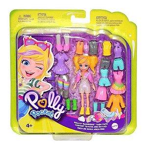 Polly Pocket Fashion Arco-Íris Mattel