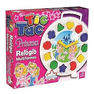 Relógio Tic Tac Princesas Multiformas Big Star