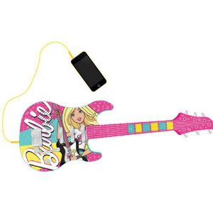 Guitarra Fabulosa Barbie Com Função MP3 Player Fun