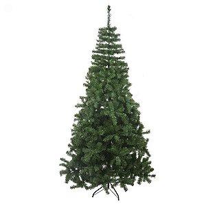 Árvore de Natal 2,10 Metros 1200 Tips Pés em Metal