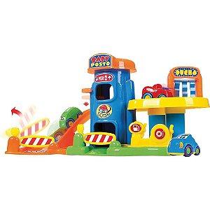 Brinquedo Para Bebe Baby Posto c/ 04 Carrinhos Big Star