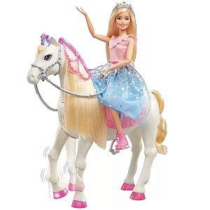 Boneca Barbie Aventura da Princesa e Cavalo Mágico Mattel