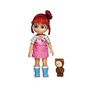 Boneca Grande Rainbow Ruby E Ursinho Choco Baby Brink