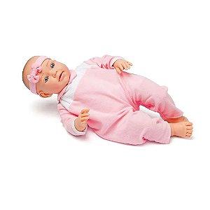 Boneca Bebê Liege 102 Frases Bambola