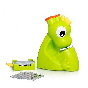 Mini Microscópio Dino  Infantil com Luz Led Dican