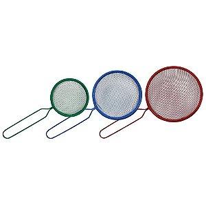 Jogo de Peneiras Color Aço Yangzi 03 Tamanhos