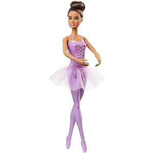 Barbie Boneca Bailarina Teresa Roxa Mattel