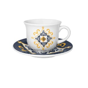 Jogo de Xícaras Chá/ Café com Leite 200 ml São Luis Oxford