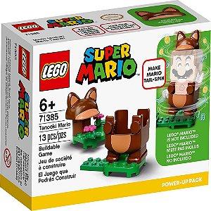 Lego Super Mario Power Up Mario Tanooki 71385