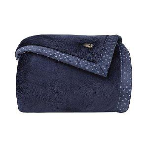 Cobertor Manta Blanket 700 King Azul Marinho - Kacyumara