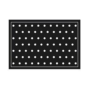 Tapete Cozinha Black White 45 x 65 Kacyumara