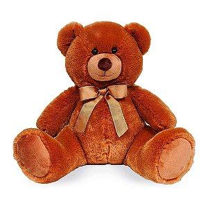 Urso De Pelúcia Charles Chic Caramelo 46 cm Buba Toys