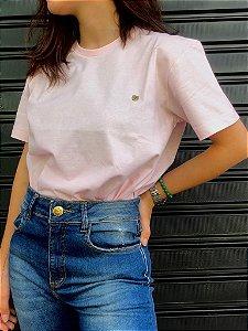 Camiseta Basica Rosa