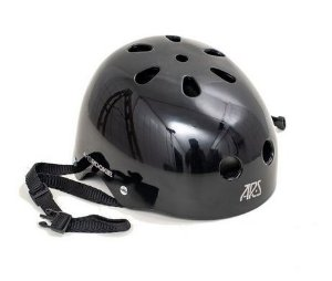 CAPACETE ARS PROTECTION ROOKIE - PRETO
