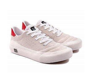 Tênis Skate Plaza White/ Mandarim