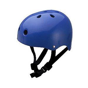 Capacete Traxart Lazer Azul Para Patins Skate e Bicicleta