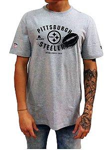3cbdde70e3632 New Era. Camiseta Pittsburgh Steelers NFL