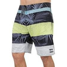 BERMUDA BILLABONG LINE UP BLACK