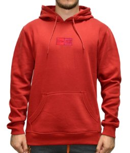 Moletom New Era Essentials Fleece - Vermelho