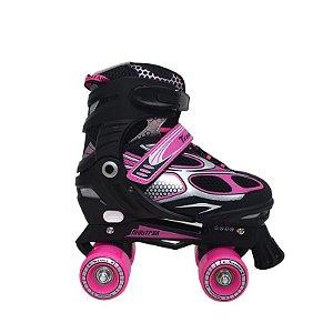 Patins Infanto-Juvenil Traxart Mini Trax Rosa