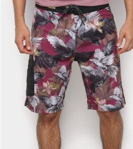 Boardshort MCD Crows Eye Vinho