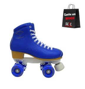 Patins Quad Traxart X Pression Azul