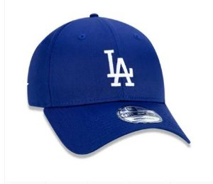 BONÉ 9FORTY ABA CURVA AJUSTÁVEL MLB LOS ANGELES DODGERS BASIC AZUL ROYAL