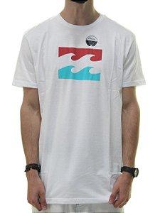 Camiseta Billabong Team Wave Branca