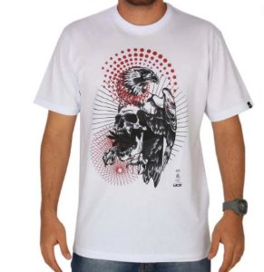 Camiseta Mcd Eagle Skull branca