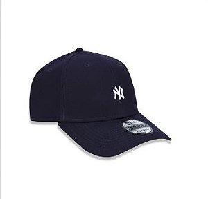 BONÉ 9FORTY ABA CURVA AJUSTÁVEL MLB NEW YORK YANKEES BASIC AZUL MARINHO