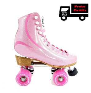 Patins Quad Traxart Brilliant Rosa