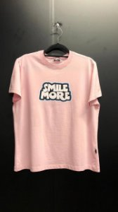 T-SHIRT Smile More Rosa