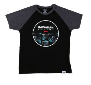 Camiseta Infantil HD raglan