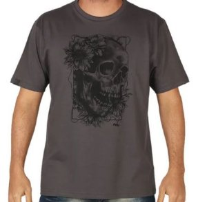 CAMISETA ESTAMPADA CAVEIRA HD