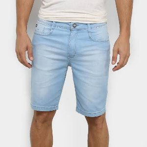 Bermuda Jeans Hang Loose Masculina Delave