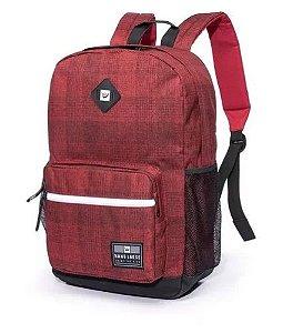 """Mochila Hang Loose Kaleo Vermelha para notebook de até 15,6"""""""