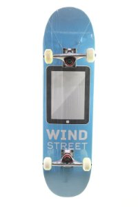Skate Wind Street Iniciante 8.0 Montado azul