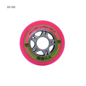 Rodas para patins linha Fitness inline -Traxart Hardwheels 76mm/88AA