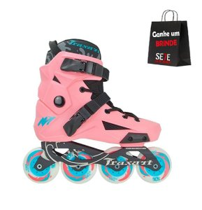 Patins Freestyle Traxart Revolt Rosa