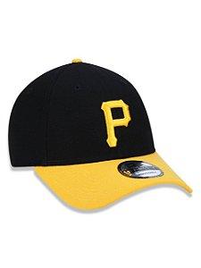 BONÉ 9FORTY ABA CURVA AJUSTÁVEL MLB PITTSBURGH PIRATES