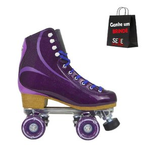 Patins Quad Traxart Brilliant Roxo *