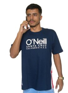 Camiseta Oneill Santa Cruz Faixa Lateral