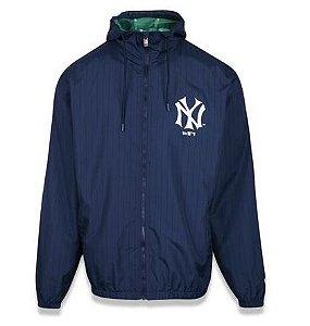 Jaqueta Corta Vento MLB New York Yankees Azul Tamanho ESPECIAL