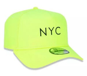 Boné New Era Aba Curva A Frame Simple Signature Fuor Nyc Verde - Snapback