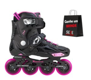Patins Freestyle Traxart Dynamix Rosa