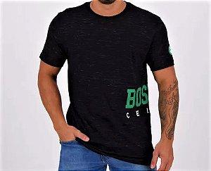 Camiseta NBA Boston Celtics Logo Lateral
